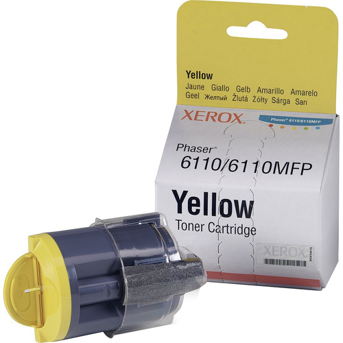 XEROX SUPPLIES YELLOW TONER 1K NA/XE FOR PHASER 6110 / 6110MFP