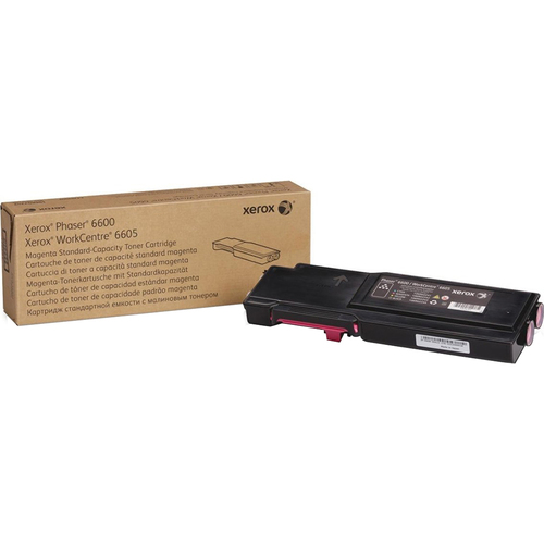 Xerox Magenta Toner Cartridge for Phaser 6600 WorkCentre 6605 - 106R02242