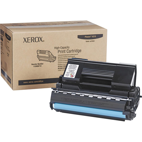 Xerox Black High Capacity Toner Cartridge for Phaser 4510 - 113R00712