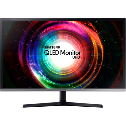 Samsung LU32H850UMNXZA 32` UHD QLED Monitor with Quantum Dot (2017 Model)