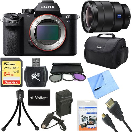 Sony a7S II Full-frame Mirrorless Interchangeable Lens Camera 16-35mm Lens Bundle