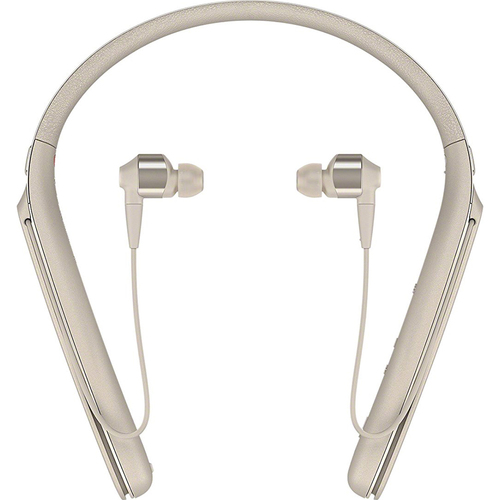 Sony WI1000X/N Noise Canceling Wireless Behind-Neck In Ear Headphones, Gold