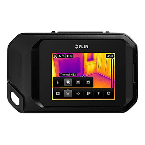 FLIR C3 Compact Thermal Imaging Inspection Camera System w/ Wi-Fi (Black) 72003-0303
