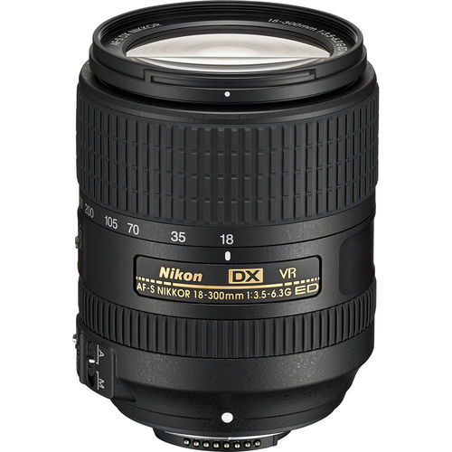 Nikon AF-S DX NIKKOR 18-300mm f/3.5-6.3G ED VR Lens - Certified Refurbished