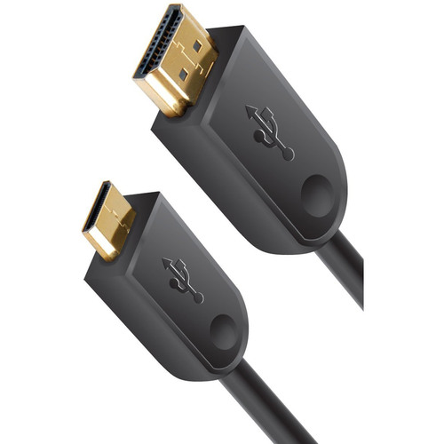 High Speed Mini-HDMI to HDMI A/V Cable 6 Feet (GENMHDMI)