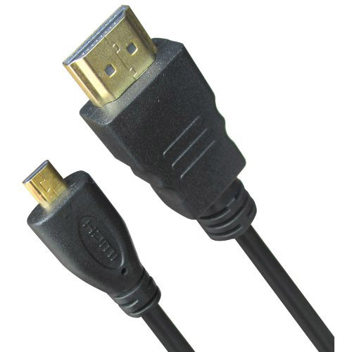General Brand High Speed 6 Feet Micro-HDMI to HDMI A/V Cable (GENMIHDMI)