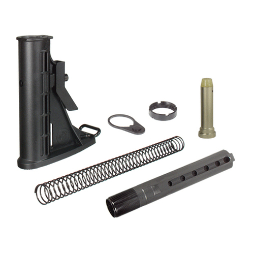 UTG PRO Made in USA 6-Position Mil-spec Stock Assembly - RBU6BM