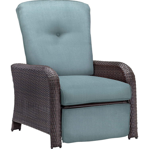 Hanover Strathmere Woven Reclining Lounge Chair