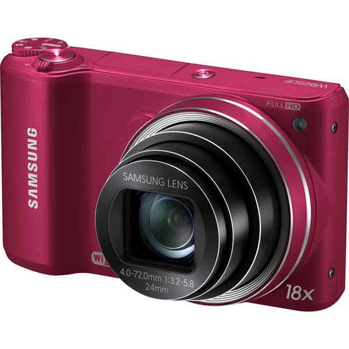 Samsung WB250F 14.2 MP SMART Camera - Red - OPEN BOX