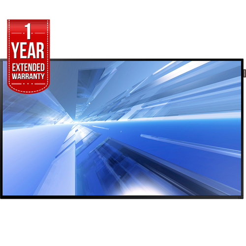 Samsung 55` Slim Direct-Lit LED Commercial Display + 1 Year Extended Warranty