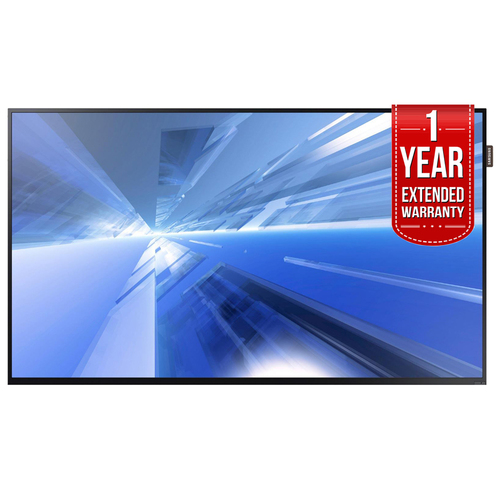 Samsung DC40E Slim 40` Direct-Lit LED Display + 1 Year Extended Warranty