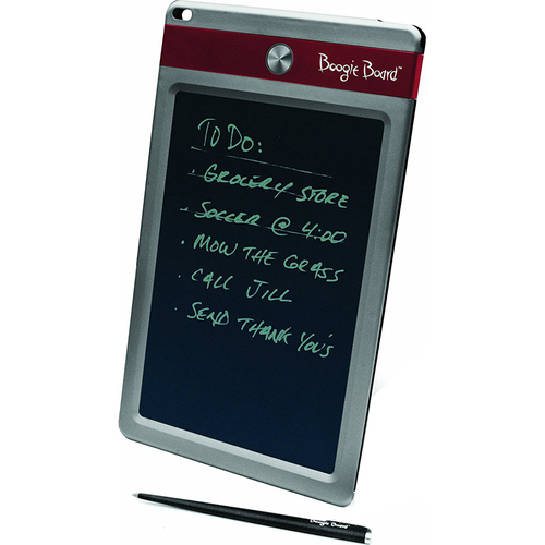 Boogie Board Jot 8.5 LCD eWriter Electronic Notepad + Sleeve Case Bundle - Red (OPEN BOX)