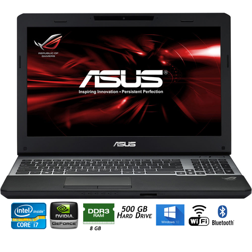 Asus ROG G55VW-DH71 15.6` Intel Chief River i7-3630QM Laptop - Refurbished