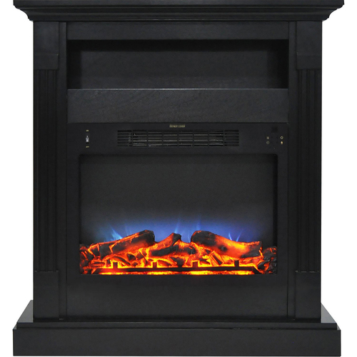 Cambridge 33.9 x10.4 x37  Sienna Fireplace Mantel with LED Insert