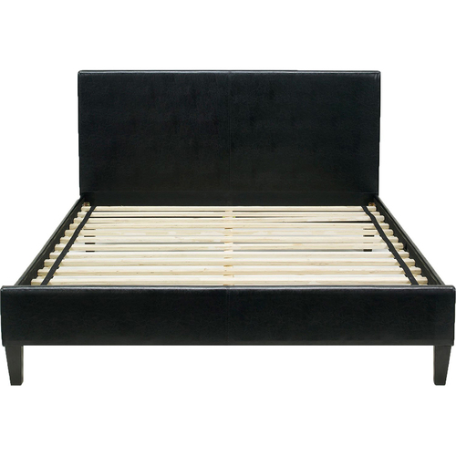Hanover Hanover Downtown Leather Queen Bed Frame