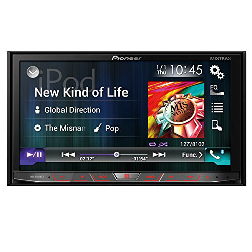 Pioneer AVH-4100NEX In-Dash Multimedia DVD Receiver w/ 7` WVGA Touchscreen OPEN BOX