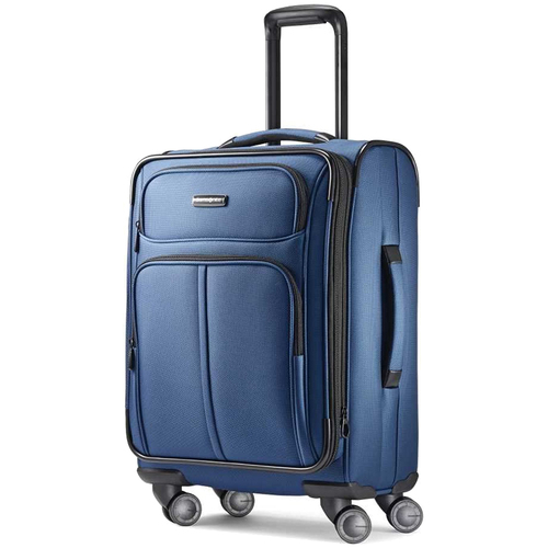Samsonite Leverage LTE Spinner 20 Carry-On Luggage, Poseidon Blue - 91997-5470