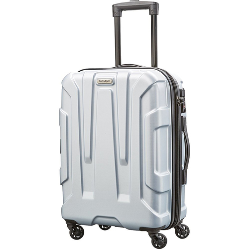 Samsonite Centric Hardside 20` Carry-On Luggage, Silver