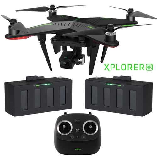 Xiro Xplorer 4K Quadcopter Drone with HD Camera & 3-Axis Gimbal  with Extra Battery