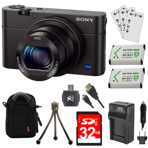 Sony Cyber-shot DSC-RX100 III 20.2 MP Digital Camera