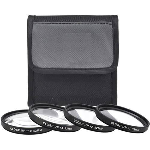 58mm 4pc HD Macro Close-UP Lens Filter Set +1 +2 +4 +10
