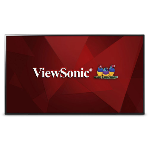 ViewSonic CDE4302 43` 1080p Commercial LED Display w/USB Media Player, HDMI (OPEN BOX)