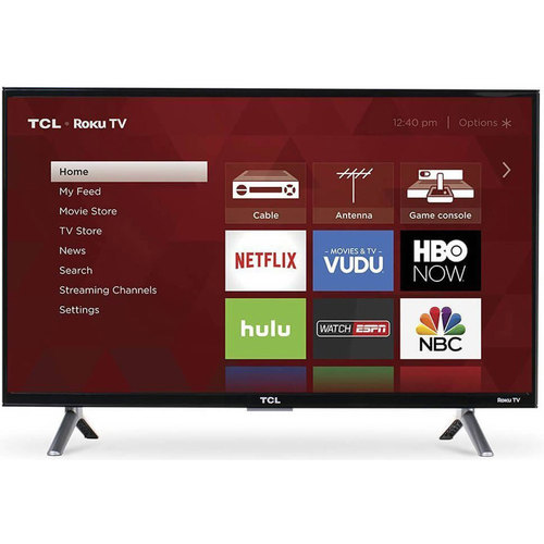 TCL 55S405 55-Inch 4K Ultra HD Roku Smart LED TV (2017 Model) (OPEN BOX)