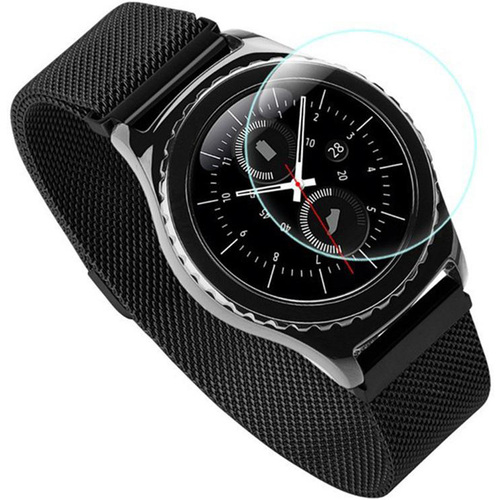 Round Tempered Glass Screen Protector Film for Samsung Gear S3
