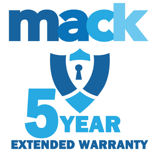 Mack 5 Year Warranty Certificate for TVs Priced up to $5000 (1410)