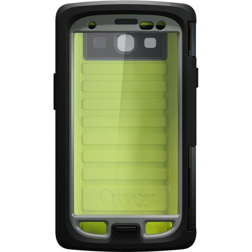Xit Armor Series Waterproof Case for Samsung Galaxy S III - Neon Green