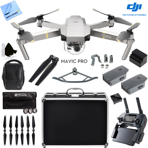 DJI  Mavic Pro Platinum Quadcopter Drone with 4K Camera and Wi-Fi Ultra Kit
