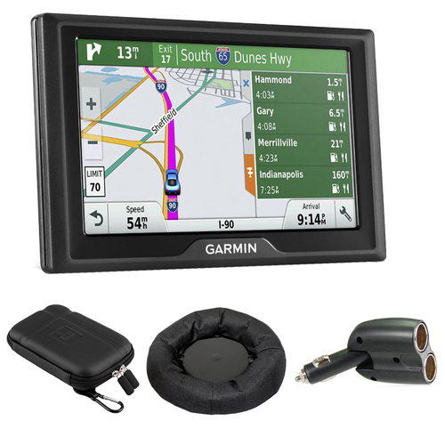 Garmin Drive 50LMT GPS Navigator (US and Canada) - 010-01532-06 with GPS Bundle