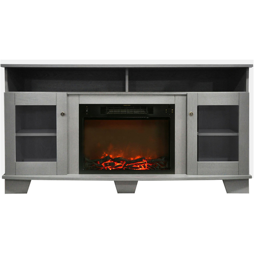 Cambridge 59.1 x17.7 x31.7  Savona Fireplace Mantel with Log Insert