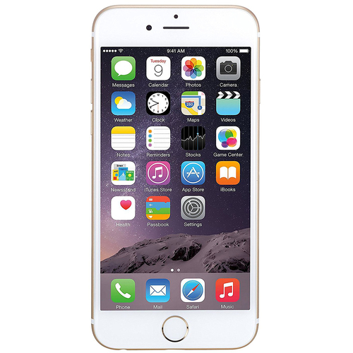 Apple iPhone 6, Gold, 128GB, Unlocked Carrier - Refurbished - IPH6GD128U