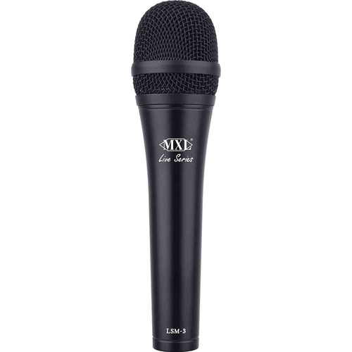 MXL Live Series Dynamic Cardioid Microphone - LSM-3 (OPEN BOX)
