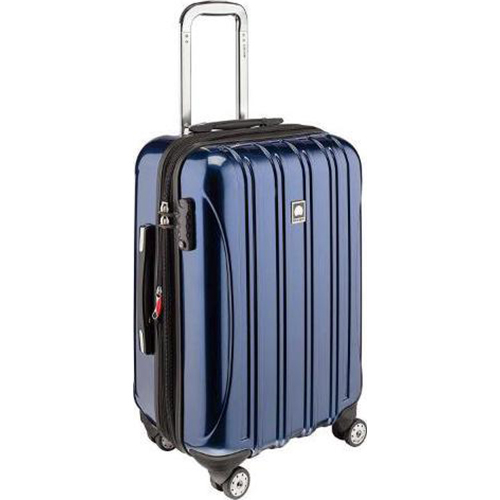 Delsey Helium Aero Carry-On Expandable Spinner Trolley (Cobalt Blue) - (OPEN BOX)