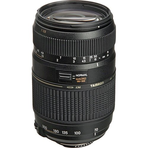 Tamron 70-300mm f/4-5.6 DI LD Macro f/ Nikon AF w/ Built-in Motor - REFURBISHED