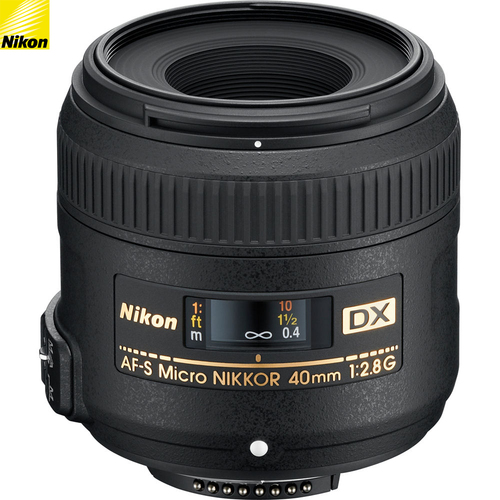 Nikon AF-S DX Micro-Nikkor 40mm F/2.8 G Lens 2200B - (Certified Refurbished)