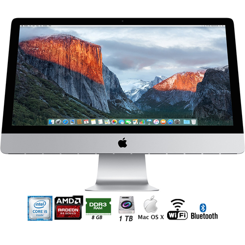 Apple 27` iMac with Retina 5K Display (FK472LL/A) - (Certified Refurbished)