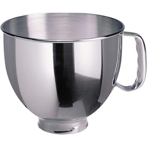 KitchenAid 5-Quart Tilt-Head Polished Stainless Steel Bowl with Handle (OPEN BOX)