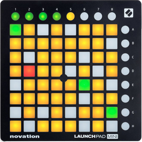 Novation Launchpad Mini Compact USB Grid Controller for Ableton Live (OPEN BOX)