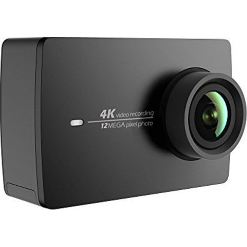 YI 4K Sports and Action Video Camera (US Edition) Night Black (OPEN BOX)