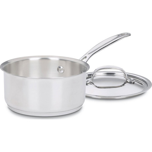 Cuisinart 719-14 - Chef's Classic Stainless 1 Quart Saucepan with Cover