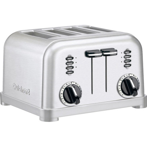 Cuisinart CPT-180 4-Slice Metal Classic Toaster - Brushed Stainless