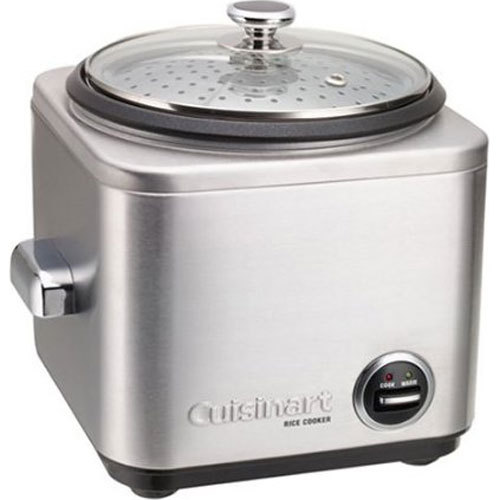 Cuisinart CRC-400 4-Cup Stainless Steel Rice Cooker/Steamer