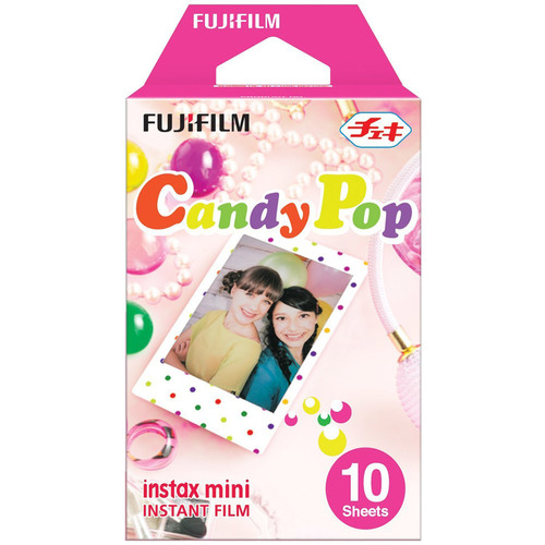 Fujifilm INSTAX Mini Candy Pop Film (10 Sheets) - 16321418