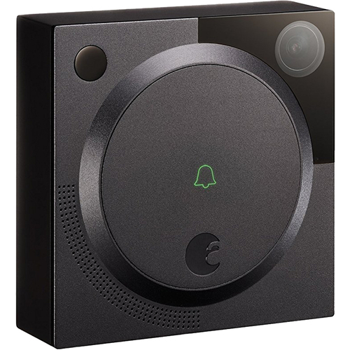 August Doorbell Camera, 1st Generation - Dark Grey - AUG-AB01-M01-G01