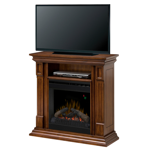 Dimplex Deerhurst Electric Fireplace & Media Console -  Burnished Walnut