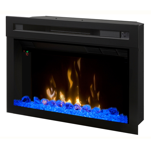 Dimplex 25` Glass Ember Bed Multi-Fire XD Electric Firebox