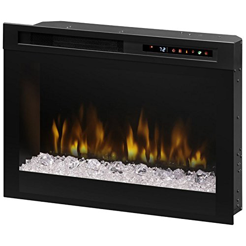 Dimplex 26` Glass Ember Bed Electric Fireplace - XHD26G